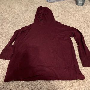 Other - Maroon pool over with hood lightly worn
